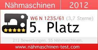 W6 N 1235/61 Platz 5 in 2012