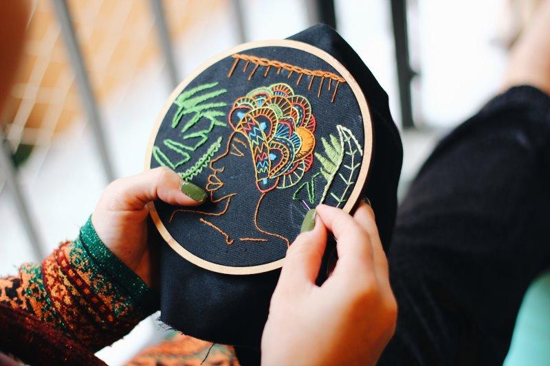 Es gibt unendlich viele Ideen und Inspirationen für Stickvorlagen.